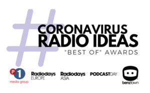 The Coronavirus Radio Ideas Awards Presented to 13 Winners From Five Continents in Virtual Awards Show!