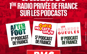 """L'After Foot"" de RMC, premier podcast de France"
